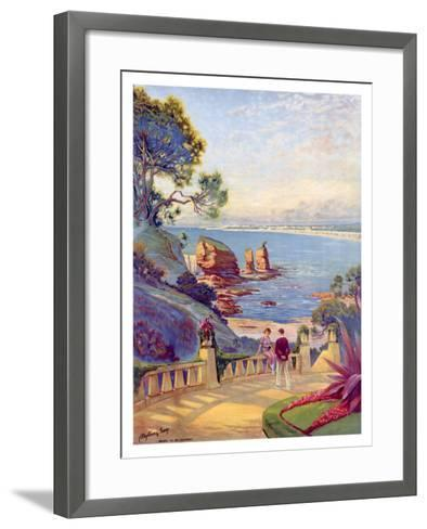 Royan Vallieres Coastal--Framed Art Print
