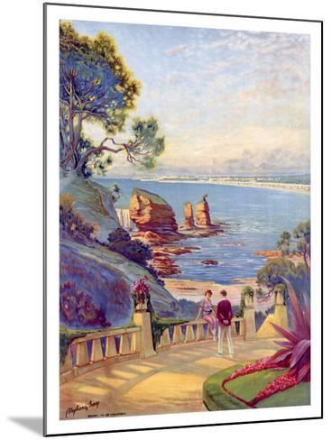 Royan Vallieres Coastal--Mounted Giclee Print