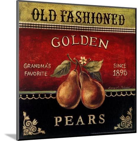 Golden Pears-Kimberly Poloson-Mounted Art Print