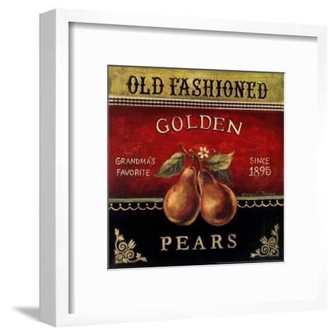 Golden Pears-Kimberly Poloson-Framed Art Print