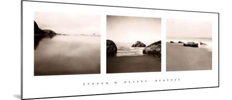Beaches-Steven N^ Meyers-Mounted Art Print