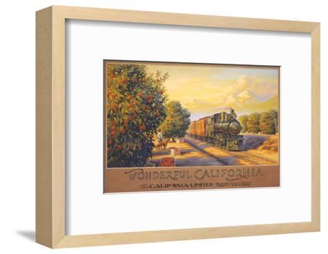 Wonderful California-Kerne Erickson-Framed Art Print