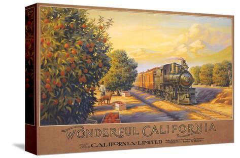 Wonderful California-Kerne Erickson-Stretched Canvas Print