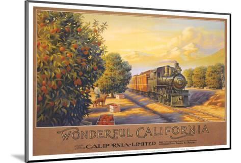 Wonderful California-Kerne Erickson-Mounted Art Print