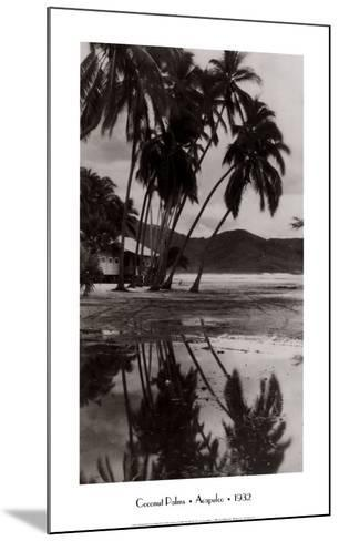Coco Palms, Acapulco, 1932--Mounted Art Print