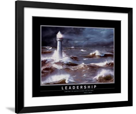 Leadership--Framed Art Print