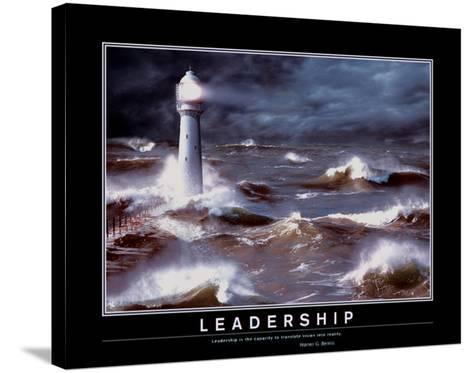 Leadership--Stretched Canvas Print