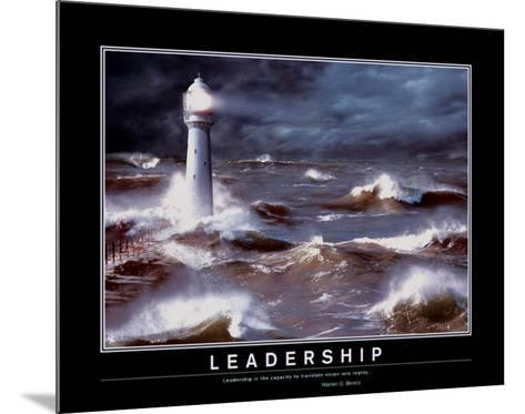 Leadership--Mounted Art Print