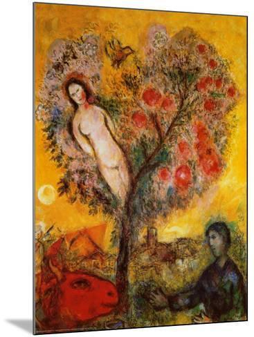 La Branche-Marc Chagall-Mounted Art Print
