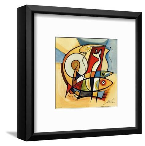 Sun Fish II-Alfred Gockel-Framed Art Print