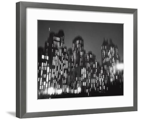 Central Park South, 1947-Ted Croner-Framed Art Print