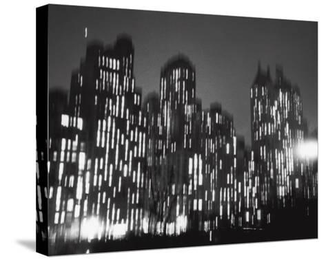 Central Park South, 1947-Ted Croner-Stretched Canvas Print