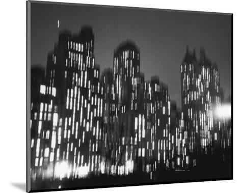 Central Park South, 1947-Ted Croner-Mounted Art Print