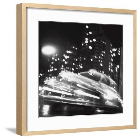 Taxi, New York Night, c.1947-Ted Croner-Framed Art Print