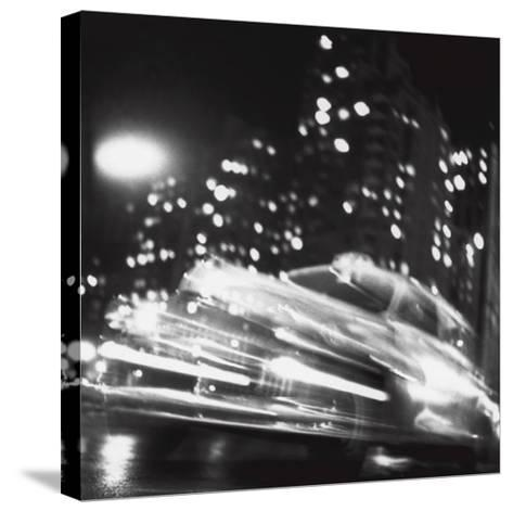 Taxi, New York Night, c.1947-Ted Croner-Stretched Canvas Print