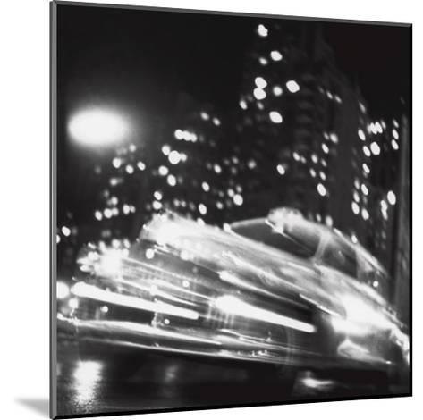 Taxi, New York Night, c.1947-Ted Croner-Mounted Art Print