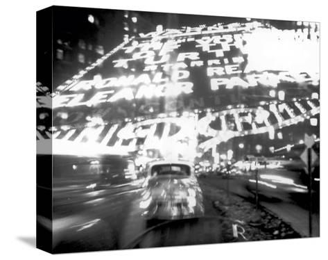 Times Square Montage, c.1947-Ted Croner-Stretched Canvas Print