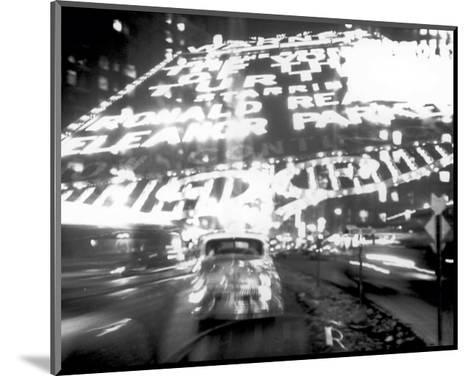 Times Square Montage, c.1947-Ted Croner-Mounted Art Print
