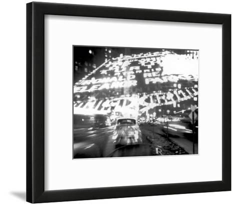 Times Square Montage, c.1947-Ted Croner-Framed Art Print