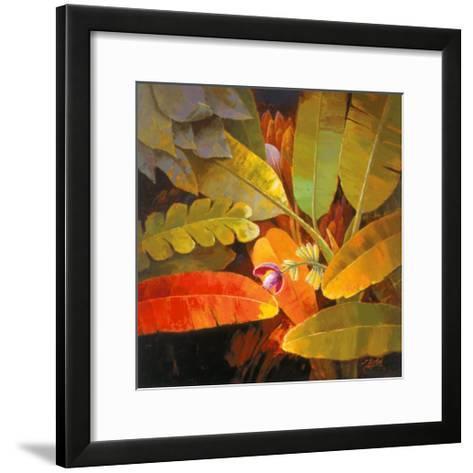 Tropical Leaves II-June K^ An-Framed Art Print