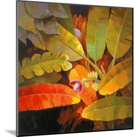 Tropical Leaves II-June K^ An-Mounted Art Print