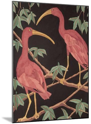 Scarlet Ibis II-Dan Goad-Mounted Art Print
