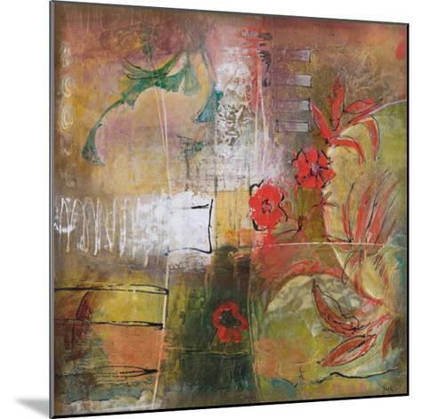 Floral Species I-Josiane York-Mounted Art Print