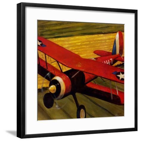 Sky Riders II-Karen Dupr?-Framed Art Print