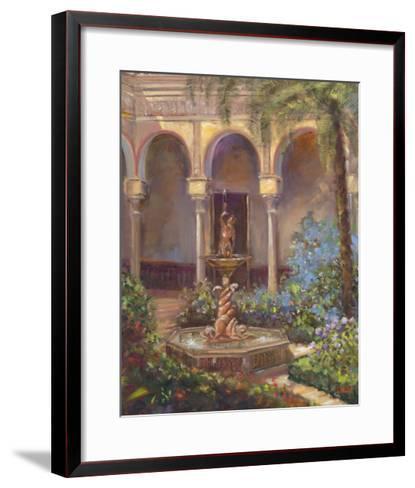 Fountain III-Michael Longo-Framed Art Print