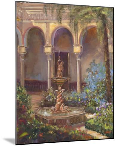 Fountain III-Michael Longo-Mounted Art Print