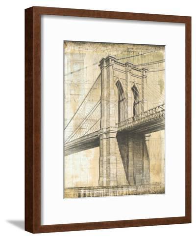 Brooklyn Bridge-P^ Moss-Framed Art Print