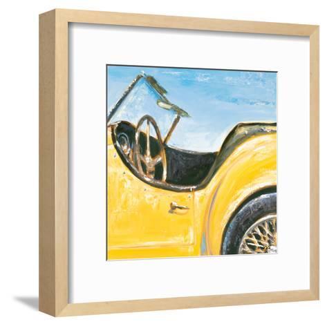 Roadster I-P^ Moss-Framed Art Print
