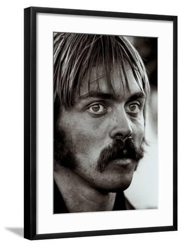 Steve Prefontaine, Portrait-Brian Lanker-Framed Art Print