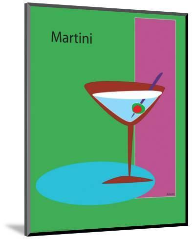 Martini in Green-ATOM-Mounted Giclee Print