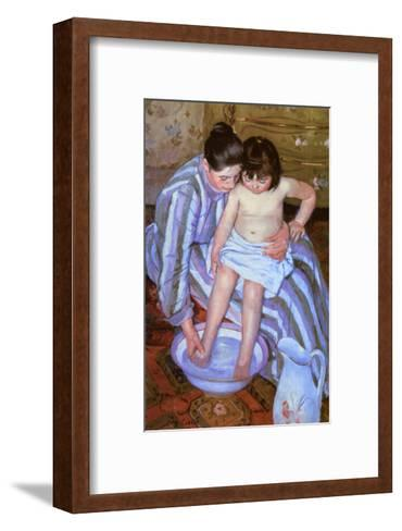 The Bath-Mary Cassatt-Framed Art Print
