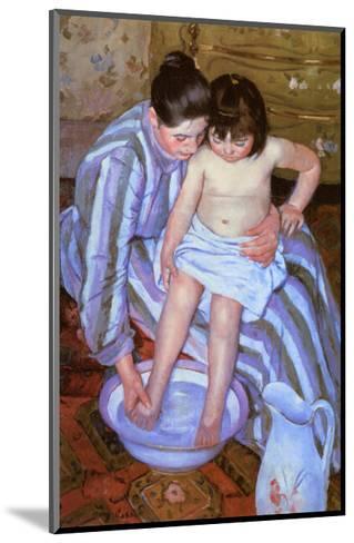 The Bath-Mary Cassatt-Mounted Giclee Print