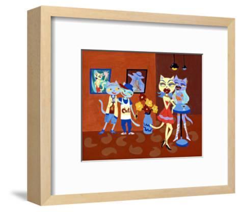 Hey Girl-MASACO-Framed Art Print