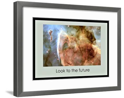 Believe in the Future--Framed Art Print