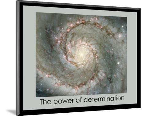 Power of Determination--Mounted Giclee Print