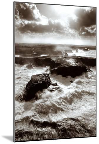Lumiere sur les Poulains-Guillaume Plisson-Mounted Art Print