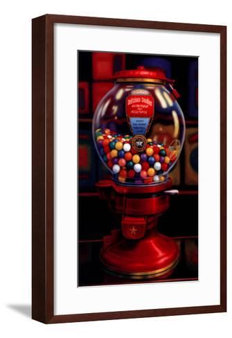 Gumball Machine IV-TR Colletta-Framed Art Print