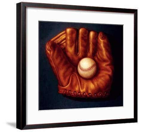 Baseball Mitt I-TR Colletta-Framed Art Print