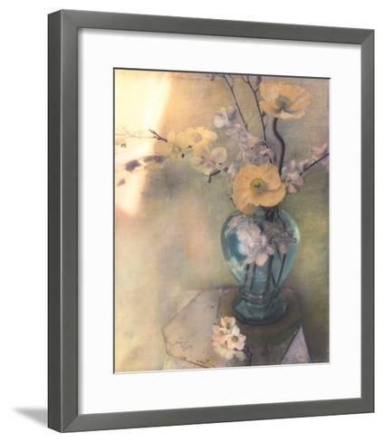 Poppies and Spring Blossoms-Susan Friedman-Framed Art Print