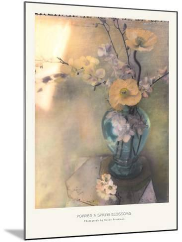 Poppies and Spring Blossoms-Susan Friedman-Mounted Art Print