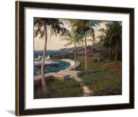 Water's Edge-Haibin-Framed Art Print
