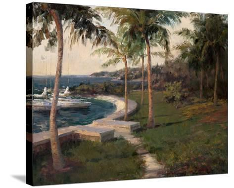 Water's Edge-Haibin-Stretched Canvas Print