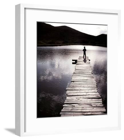 Time--Framed Art Print