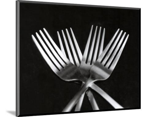 Forks-Mike Feeley-Mounted Art Print