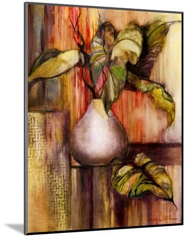 Tropical Elements I-Sandy Clark-Mounted Art Print