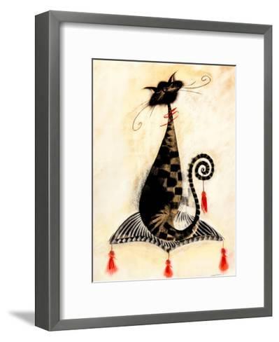 Thomas the Cat-Marilyn Robertson-Framed Art Print